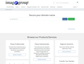 clientes.imagegroup.com.co screenshot