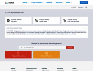 clientes.neothek.com screenshot