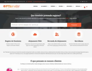 clientes.ptservidor.com screenshot