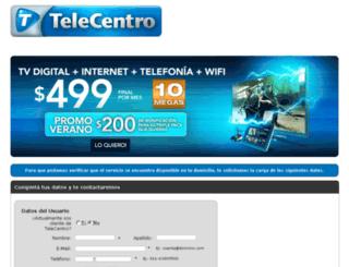 clientes2.telecentro.com.ar screenshot