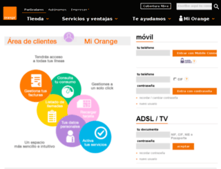clientesadsl.orange.es screenshot