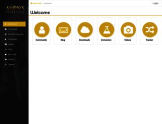 clients.adonisindex.com screenshot