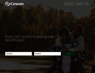 clients.cowangroup.ca screenshot