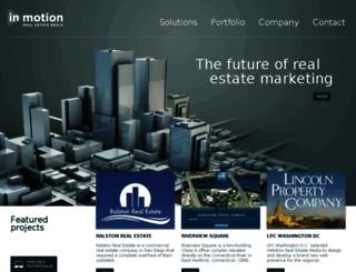 clients.inmotionrealestate.com screenshot