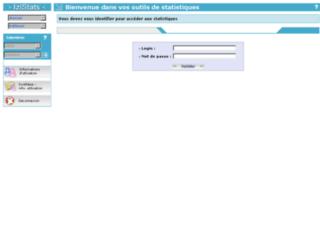 clients.izicontact.com screenshot