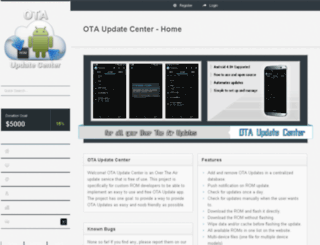 clients.otaupdatecenter.pro screenshot