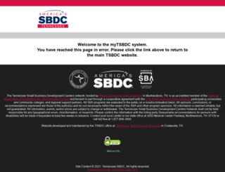 clients.tsbdc.org screenshot