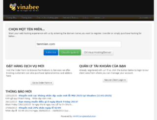 clients.vinabee.vn screenshot