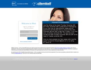 clienttell.net screenshot