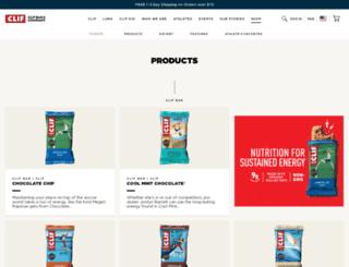 clifbarstore.com screenshot