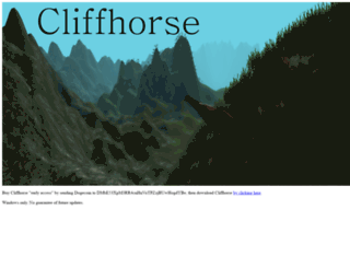 cliffhorse.com screenshot