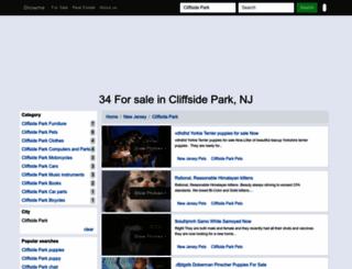 cliffsidepark.showmethead.com screenshot