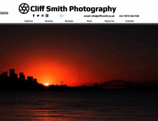 cliffsmith.co.uk screenshot