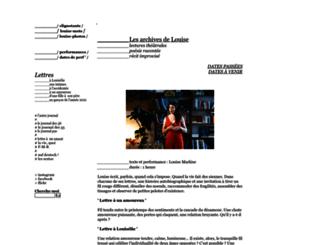 clignotants.cowblog.fr screenshot