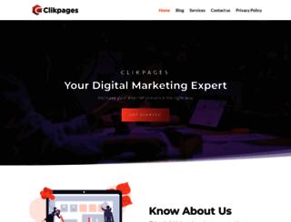 clikpages.co.uk screenshot