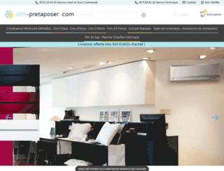 clim-pretaposer.com screenshot