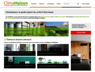 climamaison.com screenshot