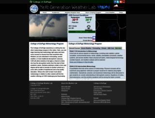 climate.cod.edu screenshot