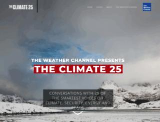 climate25.com screenshot