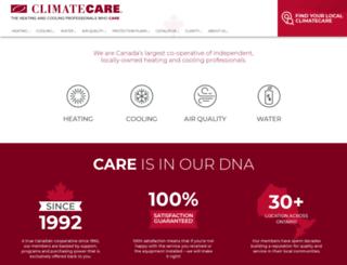 climatecare.com screenshot