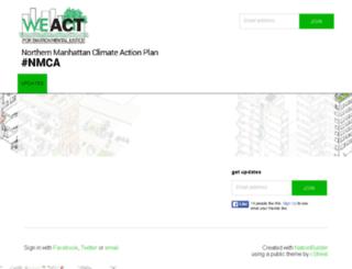 climateresil-weact.nationbuilder.com screenshot