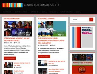 climatesafety.info screenshot