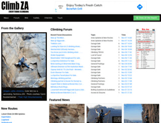 climb.co.za screenshot