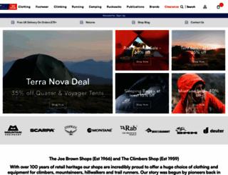 climbers-shop.com screenshot