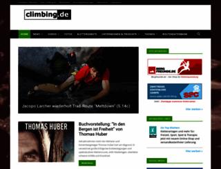climbing.de screenshot