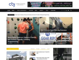 climbingbusinessjournal.com screenshot