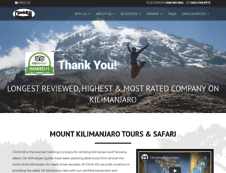 climbkili.com screenshot