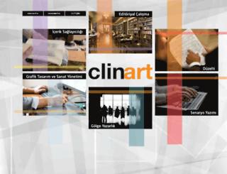 clinart.com.tr screenshot