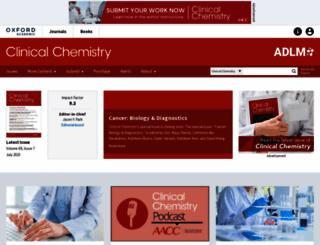 clinchem.org screenshot