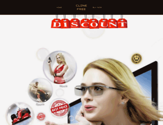 clinefree.com screenshot