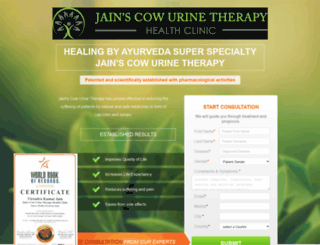 clinic.cancercarefoundationofindia.org screenshot