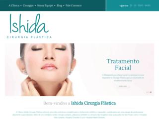 clinicaishida.com.br screenshot