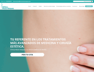 clinicarociovazquez.com screenshot
