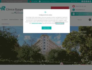 clinicarotger.com screenshot