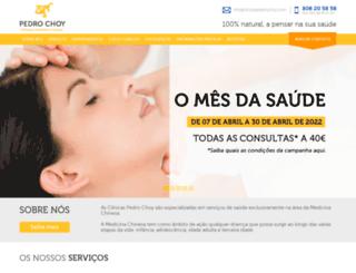 clinicaspedrochoy.com screenshot