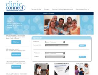 clinicconnect.com.au screenshot