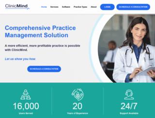 clinicmind.com screenshot