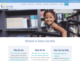 clinicscanhelp.org screenshot