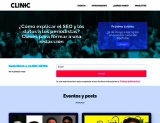clinicseo.es screenshot