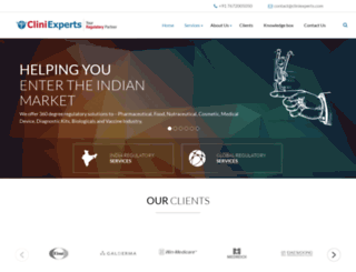 cliniexperts.com screenshot