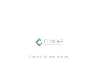 clinilive.com.br screenshot