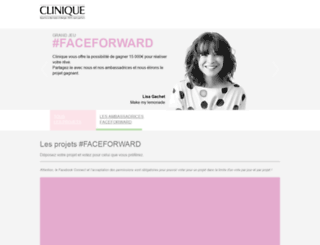 clinique-faceforward.fr screenshot
