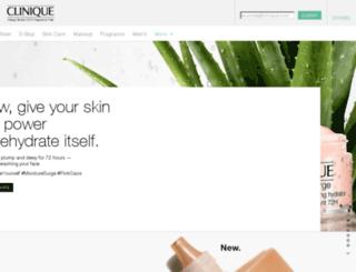 clinique.in screenshot