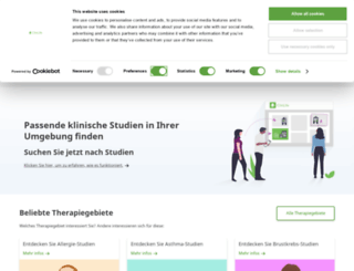 clinlife.de screenshot