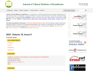 clinmedkaz.org screenshot