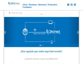 clinomedi.com screenshot